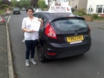 Jenna passed with Alert No1 School of Motoring