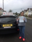joice  passed with Alert No1 School of Motoring