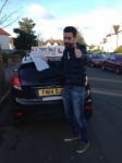 Karl passed with Alert No1 School of Motoring