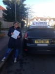 Rachel passed with Alert No1 School of Motoring
