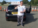 Salih passed with Alert No1 School of Motoring