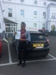 sharon  passed with Alert No1 School of Motoring