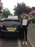 shreena passed with Alert No1 School of Motoring