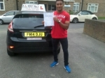 Wesley passed with Alert No1 School of Motoring