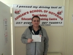 Alan passed with Adrian's School of Motoring