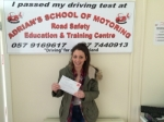 New passer added 15/02/2016 passed with Adrian's School of Motoring