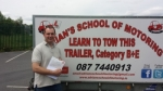 Ger Conroy passed with Adrian's School of Motoring