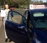 Natasha Baker passed with U Drive Driving School