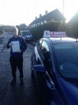 Aiden Reid passed with U Drive Driving School