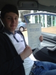 damon o'conner passed with U Drive Driving School