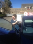 Fiona Blackie passed with U Drive Driving School