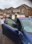 zoey mcadam passed with U Drive Driving School