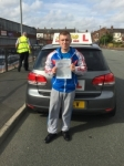 Ben from Oldham passed with Asta L Vista Driving School