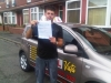 Calum - Gorton passed with Asta L Vista Driving School