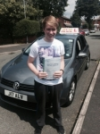 Dan from Chadderton passed with Asta L Vista Driving School