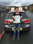 Donna from new moston passed with Asta L Vista Driving School