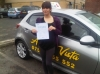 Emily-Audenshaw passed with Asta L Vista Driving School