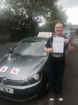 Ian from Failsworth passed with Asta L Vista Driving School