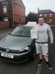Jake from Chadderton passed with Asta L Vista Driving School