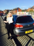 Jemma from Openshaw passed with Asta L Vista Driving School