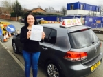 Jess from Failsworth passed with Asta L Vista Driving School