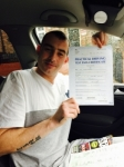 John from Limeside passed with Asta L Vista Driving School