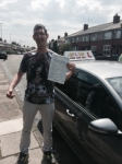 Jon from Middleton passed with Asta L Vista Driving School