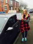 Leanne from Chadderton passed with Asta L Vista Driving School
