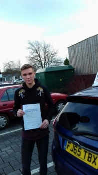 Second test of 2018 and a first time pass for Aaron with just a hanful of faults.