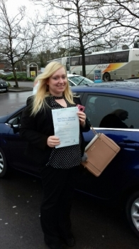 The first test and pass of 2018 for Kelly passing on her first attempt with just a handful of faults.