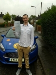Zack Duncan passed with Martin's Driving School