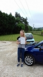 Abby Bowden passed with Martin's Driving School