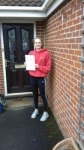 Amber passed with Martin's Driving School