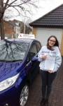 Amy Gee passed with Martin's Driving School