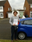 Ashley passed with Martin's Driving School