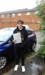 Ben passed with Martin's Driving School