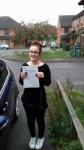 Charlotte passed with Martin's Driving School