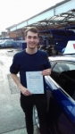 Chris passed with Martin's Driving School