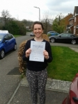 Ciara Lavery passed with Martin's Driving School