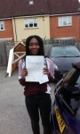Damilola passed with Martin's Driving School