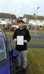 Elliot Johnson passed with Martin's Driving School