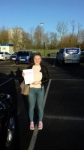 Gabby passed with Martin's Driving School