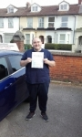 Graham passed with Martin's Driving School
