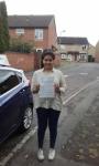 Haleema passed with Martin's Driving School