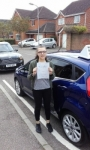 Holly O'brien passed with Martin's Driving School