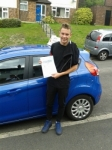 Jay Cannon passed with Martin's Driving School