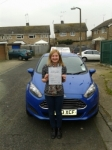 Jenna Gillet passed with Martin's Driving School