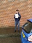 Joe Gregory passed with Martin's Driving School