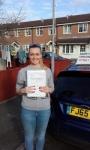 Jordan passed Jan 17 passed with Martin's Driving School