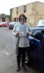 Katie passed with Martin's Driving School